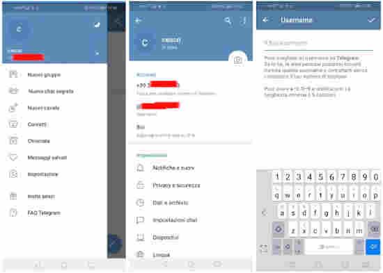 Come non farsi vedere e nascondere il numero di cellulare su Telegram 2