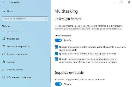 Come dividere lo schermo in due o più parti su Windows 10 1