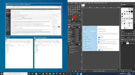 Come dividere lo schermo in due o più parti su Windows 10 2