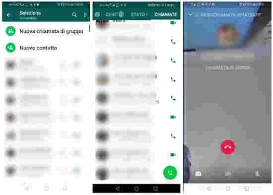 Come fare una videochiamata di gruppo su WhatsApp 1