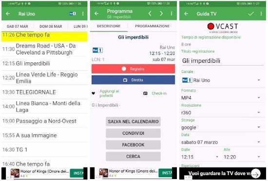 Come registrare programmi TV dal tuo smartphone o tablet Android 2