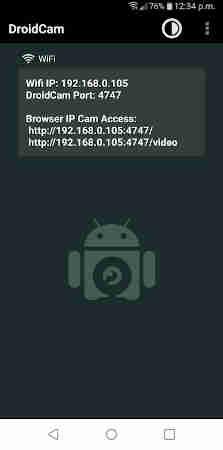 Come usare la fotocamera del cellulare come webcam sul PC 1