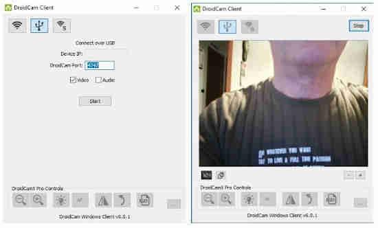 Come usare la fotocamera del cellulare come webcam sul PC 2