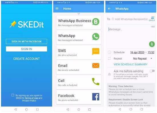 Come mandare messaggi automatici su WhatsApp 1