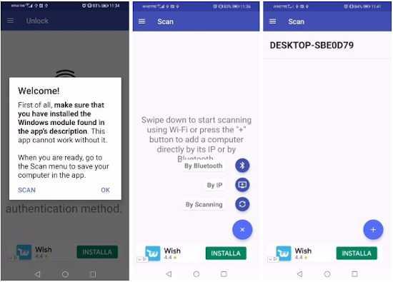 Come sbloccare il PC Windows con impronta digitale dello smartphone Android 2