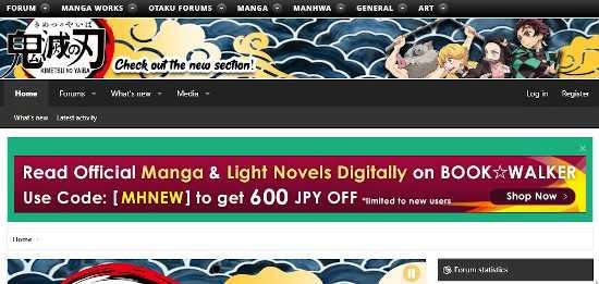 Migliori siti per leggere manga online gratis 5