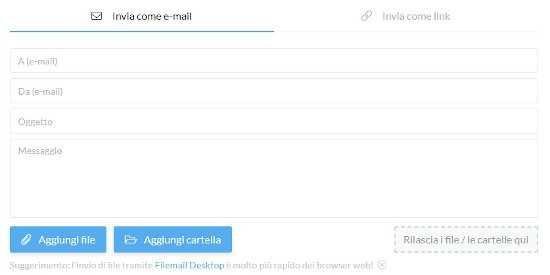 Come inviare video pesanti via email 2