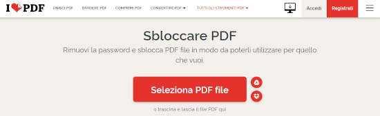 Come sbloccare un file PDF protetto da password 1