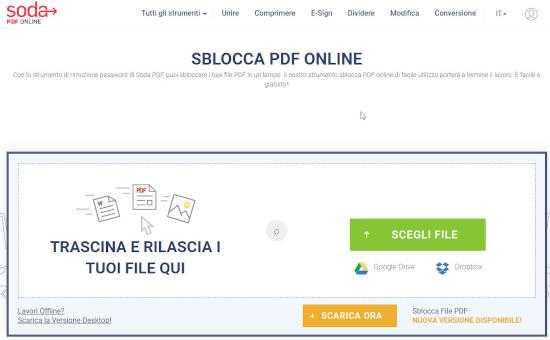 Come sbloccare un file PDF protetto da password 4