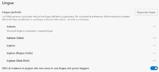 Come tradurre automaticamente pagine Web con il nuovo Microsoft Edge 3