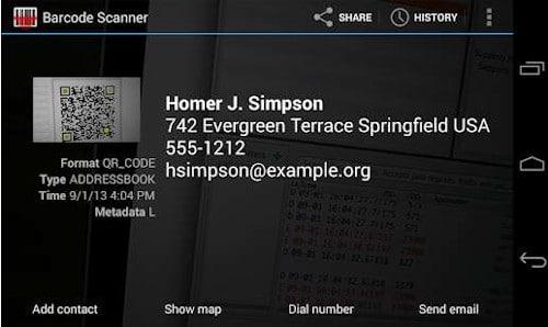 Come scansionare codice QR con Android 2