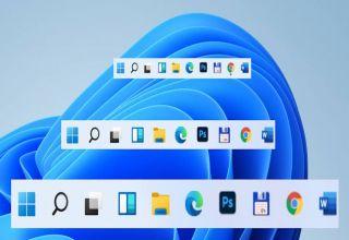Come ingrandire o ridurre la barra delle applicazioni su Windows 11